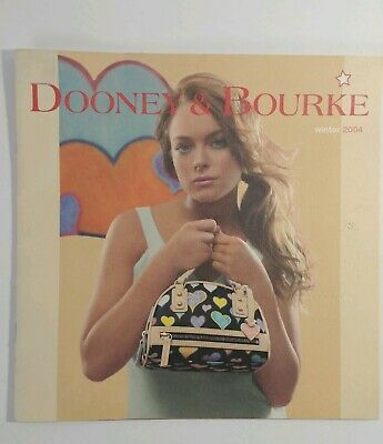 Lindsay Lohan in Dooney & Bourke Catalog Winter 2004 with 24 pages