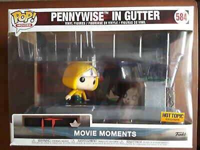 Funko Pop Movie Moment IT Pennywise in gutter