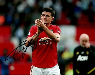 Manchester United Harry Maguire Autographed Signed 8x10 Photo COA #4