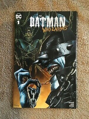 The Batman Who Laughs #1 VARIANT COVER A Mico Suayan Unknown Comics