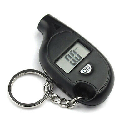 5- 150PSI Mini Digital LCD Car Tire Tyre Air Pressure Gauge Tester With Keychain