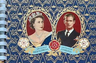 1953 Coronation Tin Plate Autograph Book signatures from 1958 Commonwealth Games