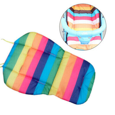 New Baby Stroller Stripe Pram Pushchair Pad Cover Mat Car Seat Chair Cushion