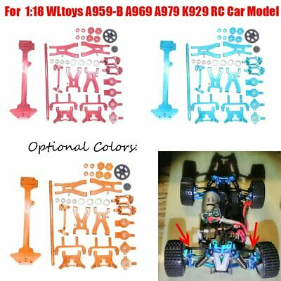 RC A580030 Silver Alum Radio Tray Fit WLtoys 1//18 Off-Road A949 A959 A969 A979