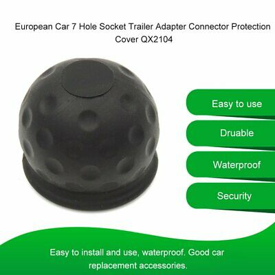 Universal 50mm Tow Ball Cover Caps Towing Hitch Caravan Trailer Towball UK