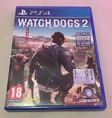 Watch Dogs 2 Stand. Edition Ps4 Italiano Videogioco Play Station 4 Gioco