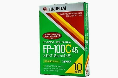 【NEW】 FUJIFILM FP-100C45 4x5 Instant COLOR Film EXP05/2007 COLD STORED JAPAN 138