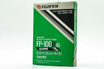 【NEW】 FUJIFILM FP-100B 45 4x5 Instant B&W Film EXP07/2000 COLD STORED JAPAN #192