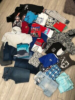 Huge Bundle Of Boys Clothing Age 12-13 Years 28 Items!