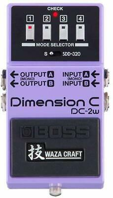 BOSS / DC-2W Dimension C MADE IN JAPAN Technical Waza Craft from Japan F/S