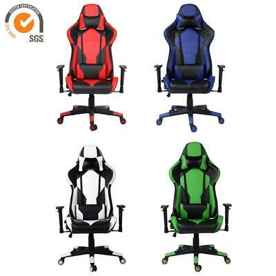 Luxury Executive Home Racing Gaming Office Chair Swivel Computer Recliner Chair