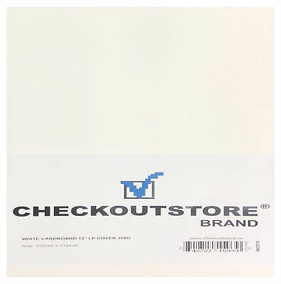 "CheckOutStore Cardboard Jackets Cover for 12"" Vinyl 33 RPM Records"