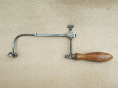 Antique Steel Jeweller's Clockmaker's Piercing Saw