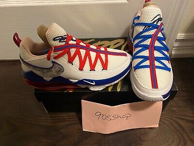 Nike LeBron 17 Low Tune Squad Space Jam Shoes Size 7.5 US