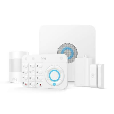 Ring Indoor Alarm Home Security Kit Remote Monitoring Installation Kit Included