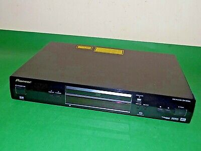 PIONEER DV-656A DVD Disc Player CD Black Fully working Top Quality
