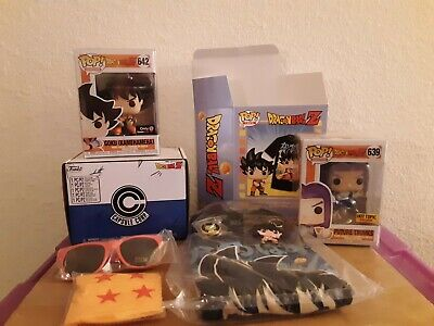 Funko POP! and Tee Dragon Ball Z Goku (Kamehameha) and Future Trunks Exclusives