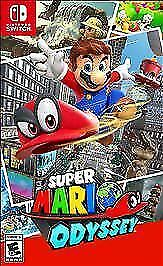 Super Mario Odyssey (Nintendo Switch, 2017) new!
