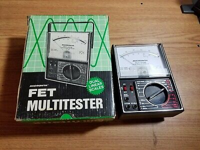 Micronta 22-209 Fet Multitester New In Box