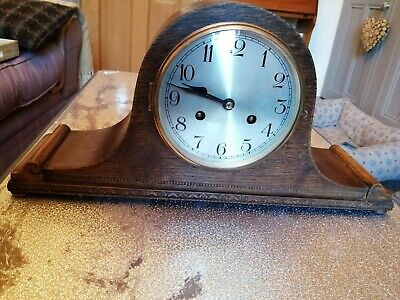 Antique Napoleon hat Mantle clock.