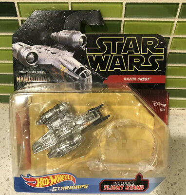 Star Wars Razor Crest Mandalorian Hot Wheels Starships New