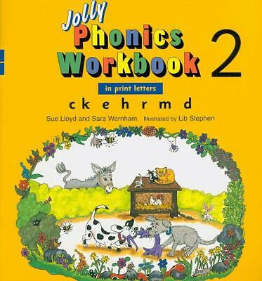 Jolly Phonics Workbook 2 by Sue Lloyd (English) Paperback Book Free Shipping!