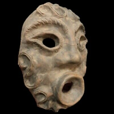 Rare Huge Stone Age Ancient Neolithic Anthromorphic Vinca Mask 4500BC