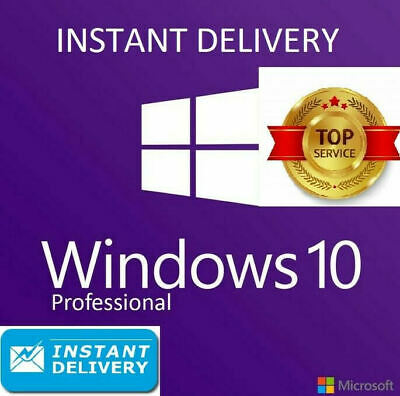 Microsoft Windows 10 Pro Professional 32/64bit License Key🔥 7s Instant Delivery