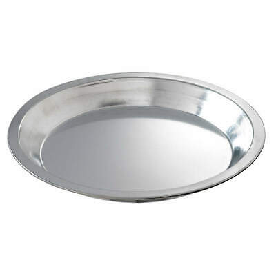 CHICAGO METALLIC Tin Plated Steel Pie Pan,Tin,9 Dia. ,PK144, 41110