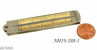 6 inch STANLEY TOOLS 40 1/2 RULER RULE carpenter woodworking caliper