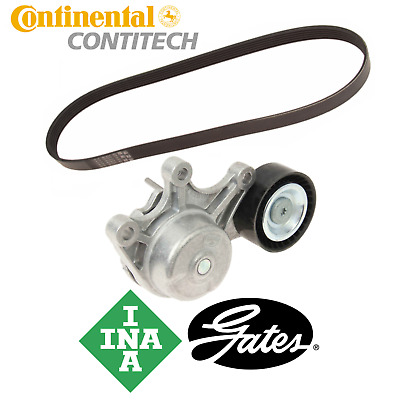 Belt Tensioner w/ Pulley + Drive Belt OEM INA BMW 228i 328i 428i 528i X1 X3 X4