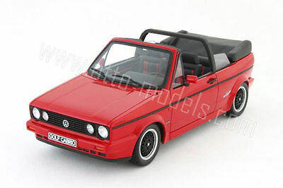 Otto Mobile 1991 Volkswagen Golf Cabriolet Sportline Red 1:18 Almost Sold Out!!!