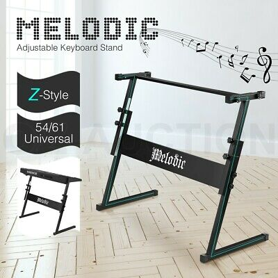 Melodic Z Style Keyboard Stand for 54/61 Keys Keyboard Piano Height Adjustable