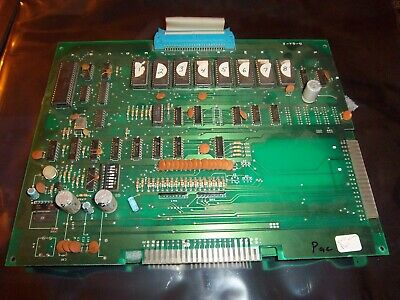 Pac-Man Video Arcade Game PCB, Tested and Working, Circuit Board PUCK