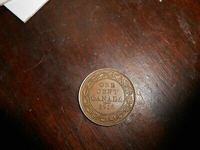 Canada/Canadian 1916 Large Cent  Nicer Coin