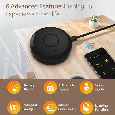 Smart IR WiFi Smart Home Control Remote Compatible With Alexa And Google Home