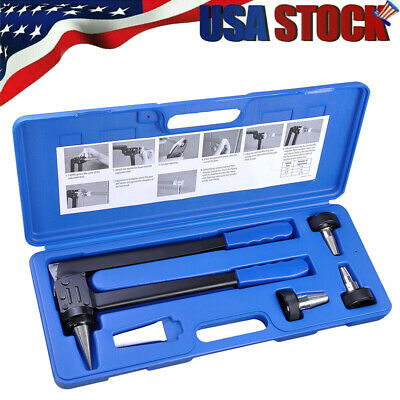 "PEX Expansion Tool Kit, Tube Tubing Expander Set with 1/2"" 3/4"" 1"" Expander Head"