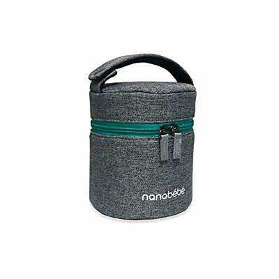 nanobebe Breastmilk Baby Bottle Cooler & Travel Bag with Ice Pack Included. Comp