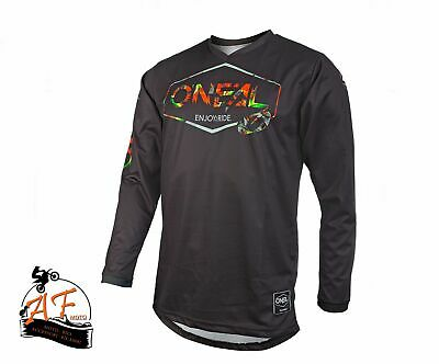 Maglia Adulto O'neal Bike Cross Black Size M 0003-003