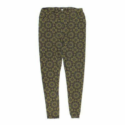 LuLaRoe Women's Leggings size L,  yellow, grey,  polyester, spandex