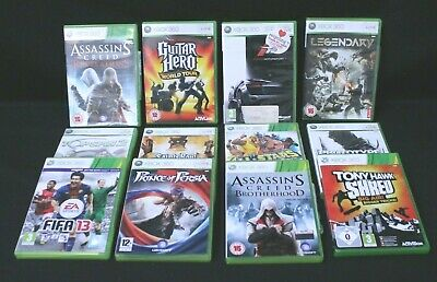 Bundle Of 11 XBox 360 Games, In Good Condition Preowned  (860Z4)
