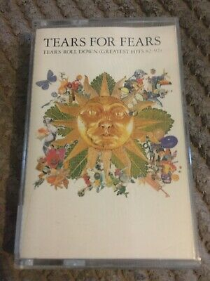 Tears For Fears Tears Roll Down Greatest Hits 82-92 Cassette Tapw