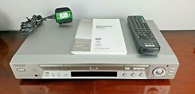 Sony DVD DVP NS700V Player with Remote and Manual