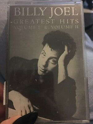 Billy Joel Greatest Hits Volume 1 And 2 Cassette
