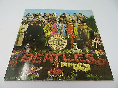 The Beatles - Sgt. Peppers Gatefold LP - UK Stereo 1967