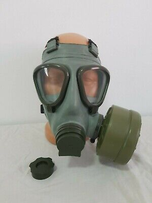 Yugoslavian NBC protective Gas Mask M2+40mm standard Filter+bag 11 PCS.