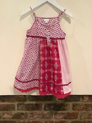 Vertbaudet Girls Lovely Red Dress Age 5 YrsGood Condition