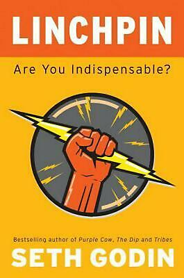 Linchpin: Are You Indispensable? by Seth Godin (English) Hardcover Book Free Shi