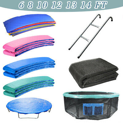 Trampoline Replacement Spring Cover Padding Safety Net Ladder Skirt Rain Cover