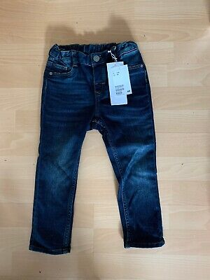 New With Tags Toddler Boys Denim Jeans Age 2-3 Years H&M